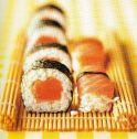 Räucherlachs Sushi Burren Smokehouse
