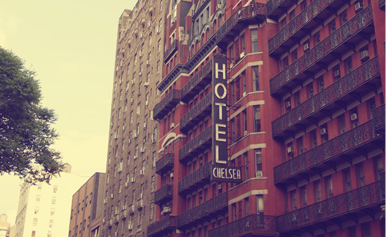 A photo of Hotel Chelsea in New York City